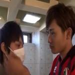 【ゲイ動画 xvideos】ウッチー似のイケメンサッカー少年と可愛い顔した童顔フェイスの美少年が校内でボーイズラブ!