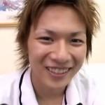 """【ゲイ動画 pornhub】イケメンなのに童貞!笑顔が可愛い元野球少年の""""いっせい""""君がゲイアダルト出演!"""