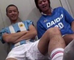 【ゲイ動画 pornhub】ゲイだらけのサッカー部に入部してしまった後輩ノンケ部員の末路…