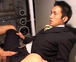 【ゲイ動画 redtube】一流企業に勤めるエリートリーマンがゲイビデオ出演!?イケメン顔が崩壊するアナルファック!!