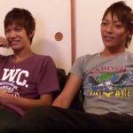 【ゲイ動画 tube8】一緒にAV観るほど仲が良い!ノンケイケメン初交尾!!