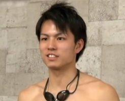 【ゲイ動画 pornhub】身長188cmで18歳のスリ筋イケメン大学生水泳部員がゲイアダルト出演!