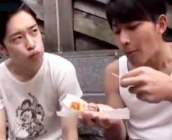 【ゲイ動画 xvideos】綺麗な美少年イケメン2人のBL旅行「大阪の街へようこそ!」高層ビルのホテル景色を見ながらアナルセックスを楽しむw