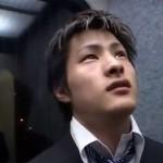 """【ゲイ動画 pornhub】遅刻したイケメンリーマン""""真輝健太""""が先輩からアナルにはずっぽしと挿入されてしまうパワハラアナルファック!"""