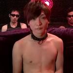 【ゲイ動画 pornhub】SEKAI NO OWARIのボーカルに激似のウケ専君が拘束プレイでアナル犯されてドラゲナイwww