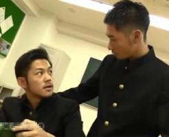 【ゲイ動画 xvideos】女子からのクラス人気一位のイケメン男子を脅迫してノンケアナルレイプ!