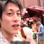 【ゲイ動画 redtube】ジャニ系イケメンアイドルが中華街をねり歩くロケ番組?→残念、ゲイビデオ撮影でした!!