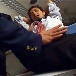 【ゲイ動画 pornhub】残業中のリーマンが警備員に睡眠薬を飲まされ、起きたら縛られてた上に襲われゲイセックスされちゃう…!