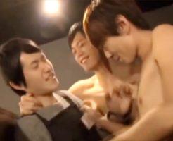 【ゲイ動画 pornhub】ネットカフェで注意してきた店員まで巻き込み大乱交www