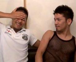 【ゲイ動画 redtube】エグザイル系イケメン2人が拘束プレイで激しくアナルセックス!