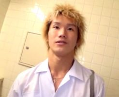 【ゲイ動画 redtube】金髪イケメン高校生のオナニー他、バスの中でアナルファックなど2時間以上のオムニバス!