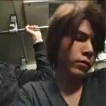【ゲイ動画 erovideo】ノンケのハーフ系イケメンも、モテ系学生もレイプでトロ顔!ゲイ痴漢列車でザーメン発射GO!