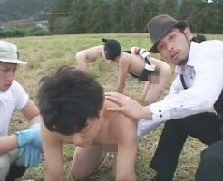 【ゲイ動画 pornhub】ノンケを調教ゲイ牧場wイケメン飼育員が家畜化した雄からザーメンミルク搾りアナルファックで飼い慣らす